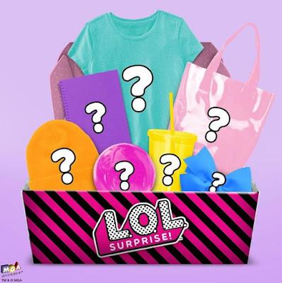 Подарочная коробка с игрушками Лол Сюрприз