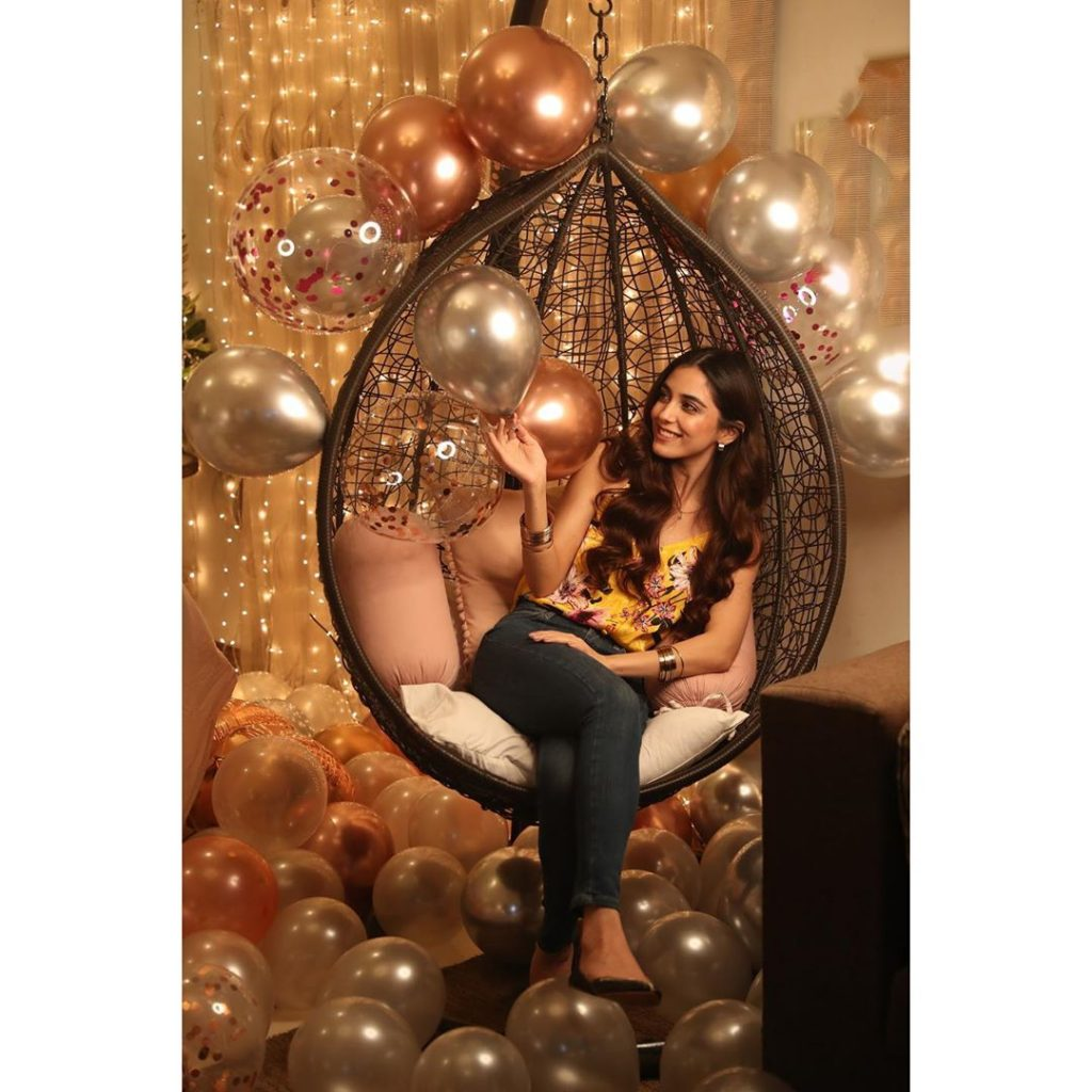 Beautiful Pictures from Maya Ali's Birthday Celebrations
