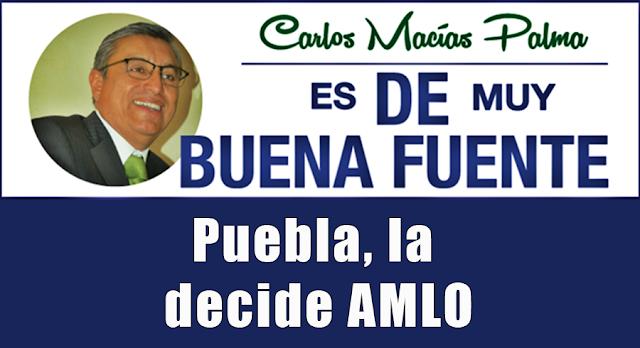 Puebla, la decide AMLO