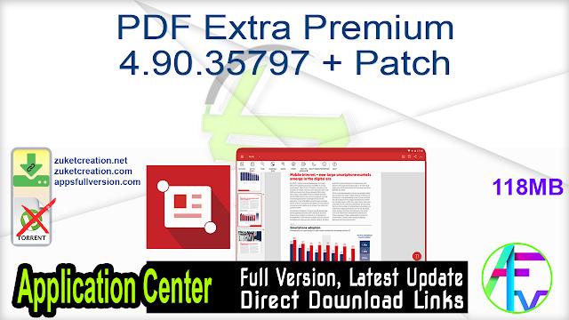 PDF Extra Premium 4.90.35797 + Patch