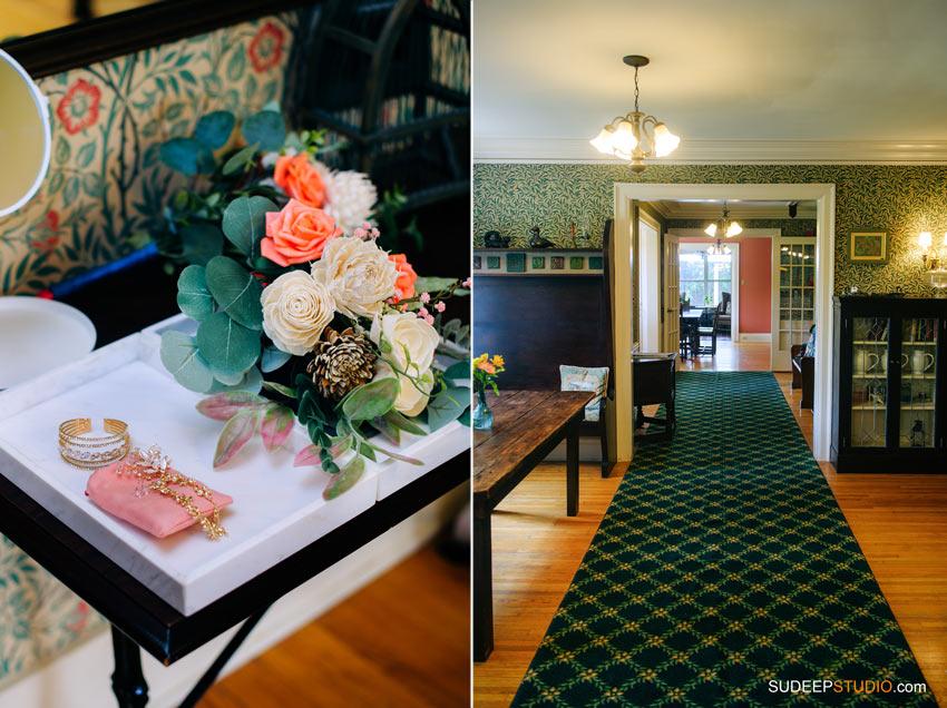 Ann Arbor Stone Chalet Inn Wedding Photography Reception Decoration by SudeepStudio.com Ann Arbor Detroit Michigan Wedding Photographer