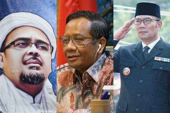 Sempat Cekcok dengan Ridwan Kamil, Mahfud MD Bocorkan Alasan Beri Izin Penjemputan Habib Rizieq