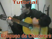 aprender rasguido de chacarera con guitarra, video y graficos