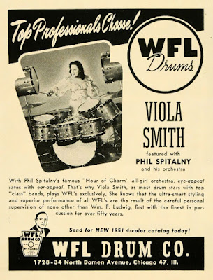 WFL Drums Viola Smith.