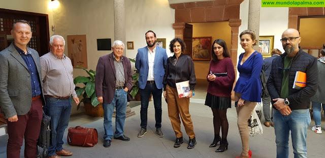 Jovita Monterrey aboga por sumar los 14 municipios de La Palma a la Red de Centros Históricos de Canarias