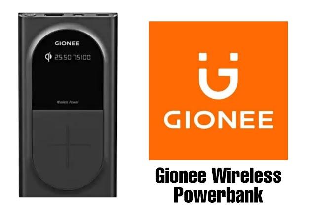 Gionee ने इंडिया मे लॉन्च किया 10,000 mAh वायरलेस पावरबेंक