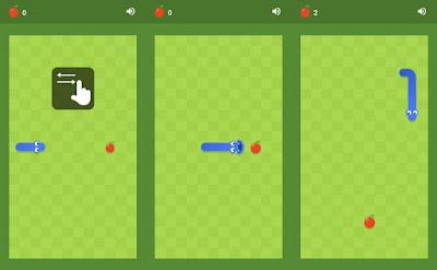 game klasik google chrome snake