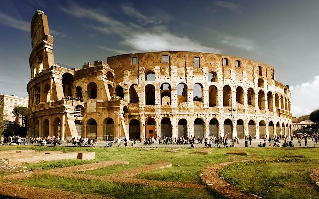 Dau truong La Ma - Roma - Italia