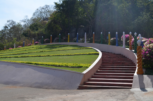 Pathway of Candles, Ramoji Film City, Hyderabad