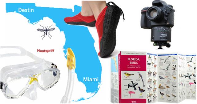 Vorbereitung Florida Urlaub