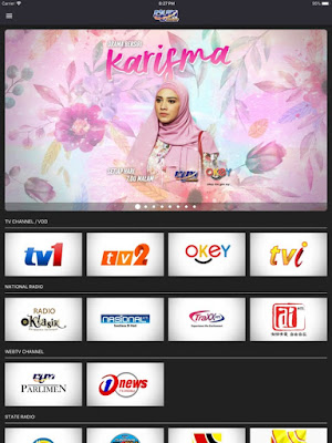 Internet live tv app malaysia rtm mobile