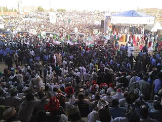 PDP Presidential Campaign Rally In Bauchi State (Photos)