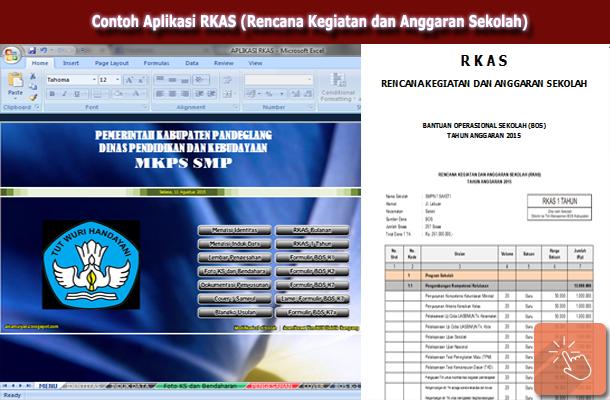 Download Contoh Aplikasi RKAS (Rencana Kegiatan dan Anggaran Sekolah) dengan Microsoft Excel