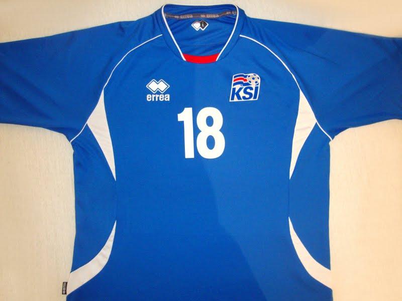 Knattspyrnusamband Íslands (Islândia) - Show de Camisas ac49b0cb85f45