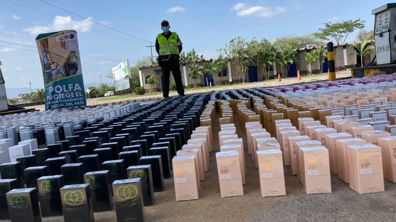 hoyennoticia.com, $155 millones en contrabando de lociones cayó en El Ebanal