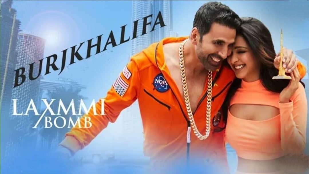Burjkhalifa Punjabi Song Image Features Akshay Kumar and Kiara Advani