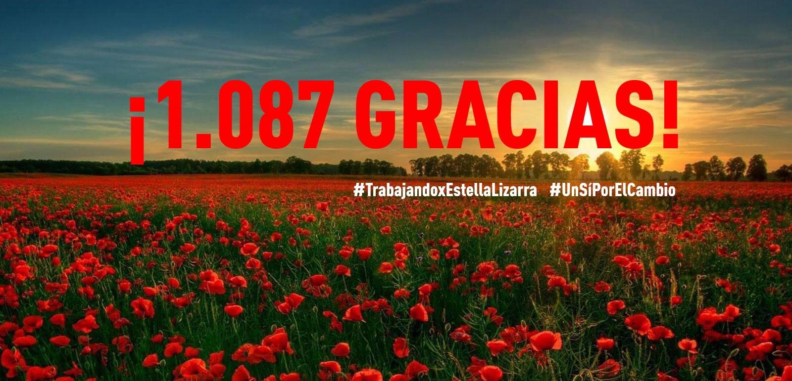 ¡1.087 gracias!