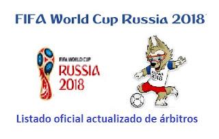 arbitros-futbol-listado-rusia