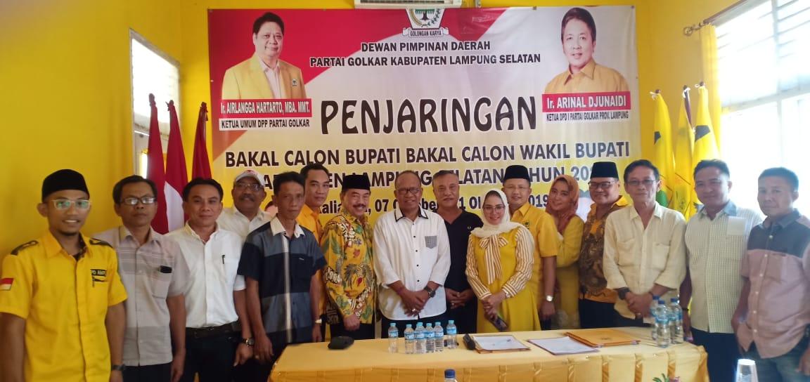 Gelar Rapat Koordinasi, Golkar Lamsel Membuka Pendaftaran Bakal Calon Bupati & Wakil Bupati Pilkada 2020