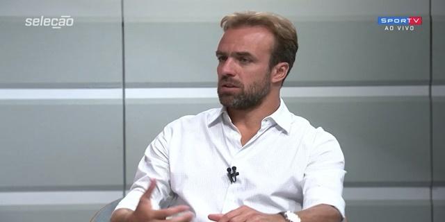 Roger é comentarista do SporTV I Reprodução