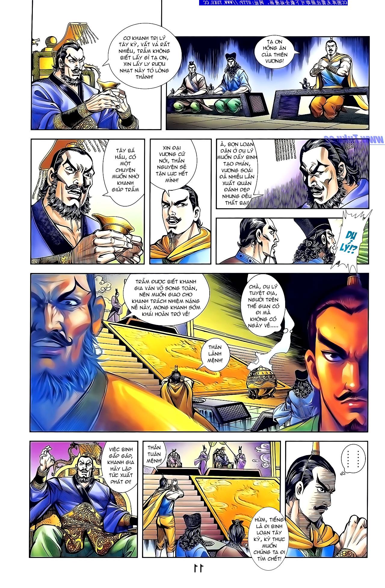 Cơ Phát Khai Chu Bản chapter 132 trang 22