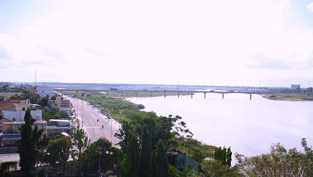 Một góc Một góc thành phố Quảng Ngãi
