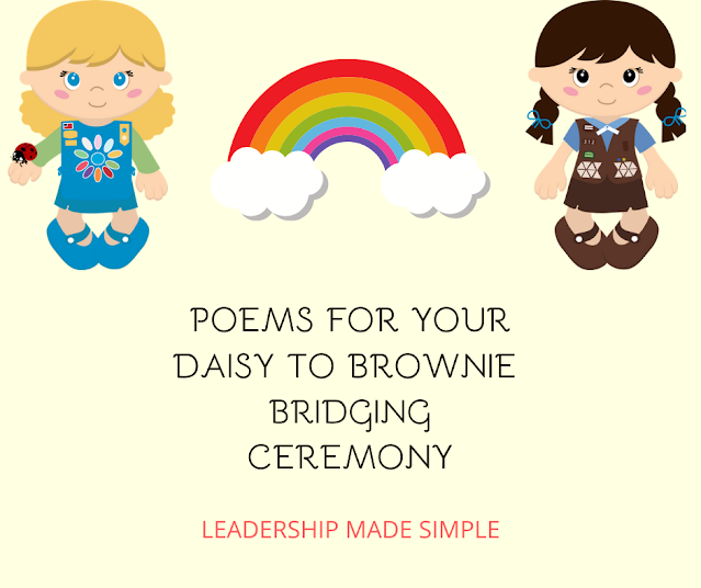 Poems for Your Daisy to Brownie Bridging Ceremony