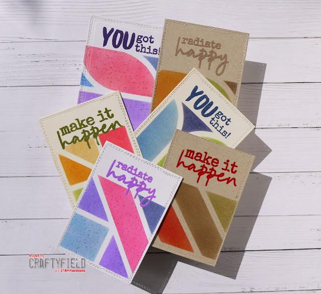 Radiate Happy stamps set