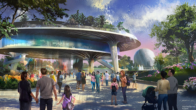 New Festival Center Concept Art Epcot Disney World