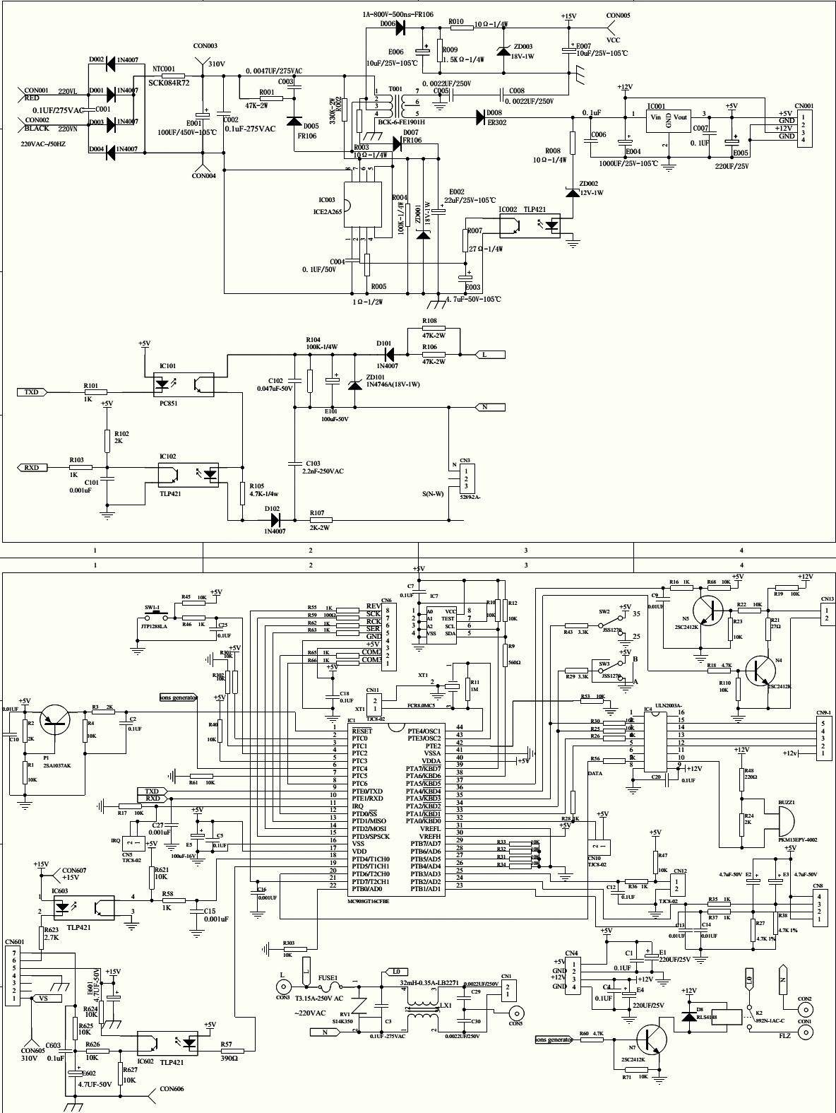 fig-5 Haier Ac Wiring Diagram on