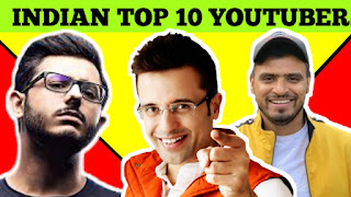 Top 10 Youtubers of India