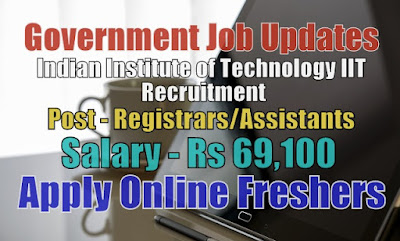 Indian Institute of Technology IIT Recruitment