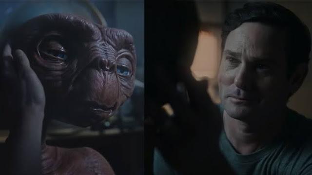 Mira el reencuentro de E.T. con Elliot 37 años después.