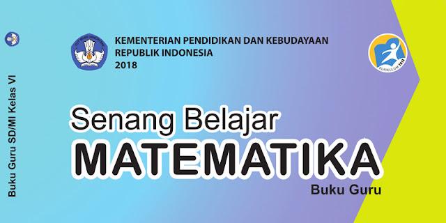 buku mtk kelas 6 kurikulum 2013 revisi 2018 tahun 2019 2020