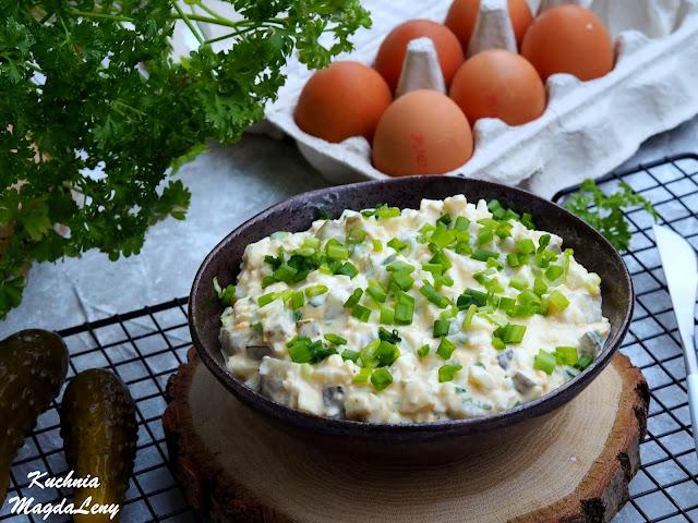 Pasta z ugotowanych jajek