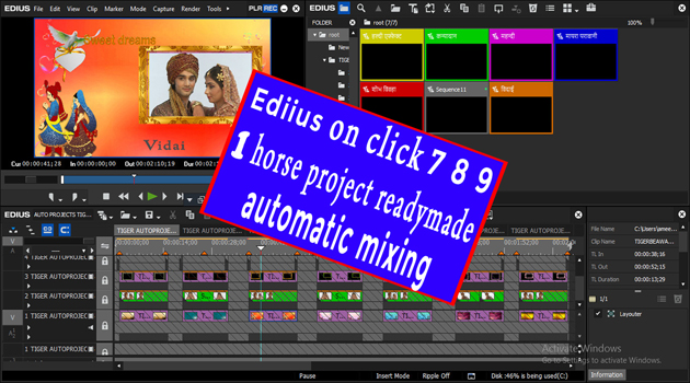 Fx Automatic Effects For Edius 7/8/9/