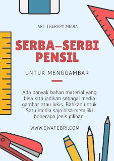 jenis pensil untuk mengambar 3d