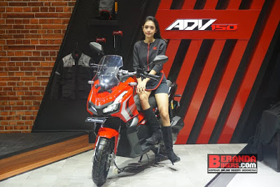 Honda Pamerkan X-ADV 150 di GIIAS 2019