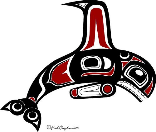 Haida Art Whale The Haida Gwaii Queen Charlotte Islands