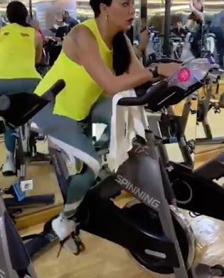 شاهد بالصور والفيديو رانيا يوسف وهى تمارس الرياضة