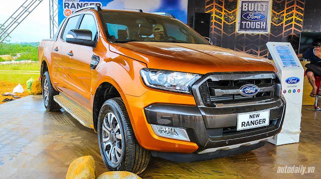 đánh giá Ford Ranger bán tải 2016
