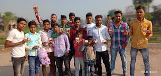 पदुमकेर युथ क्लब के द्वारा प्रयास  कोरोना वायरस से बचाव को ले कर किया जनता को जागरूक।