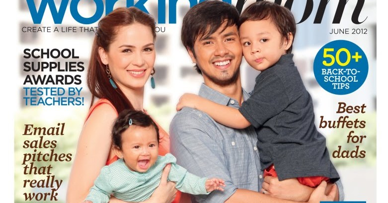 Kristine Hermosa, Oyo Sotto And Kids Cover Working Mom