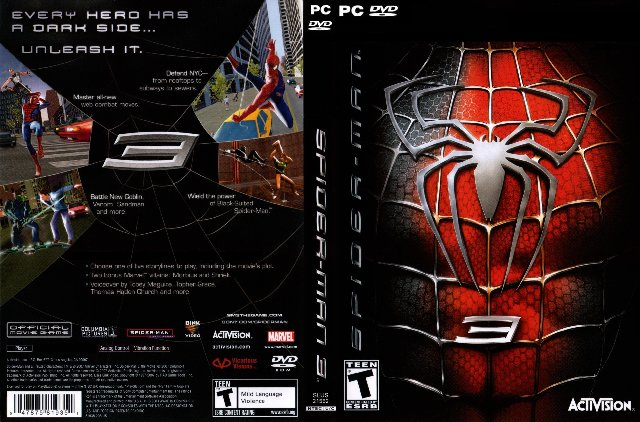 SpiderMan 3 PC Game Highly Compressed (100% working)
