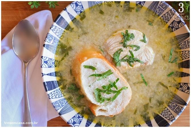 como fazer sopa de peixe