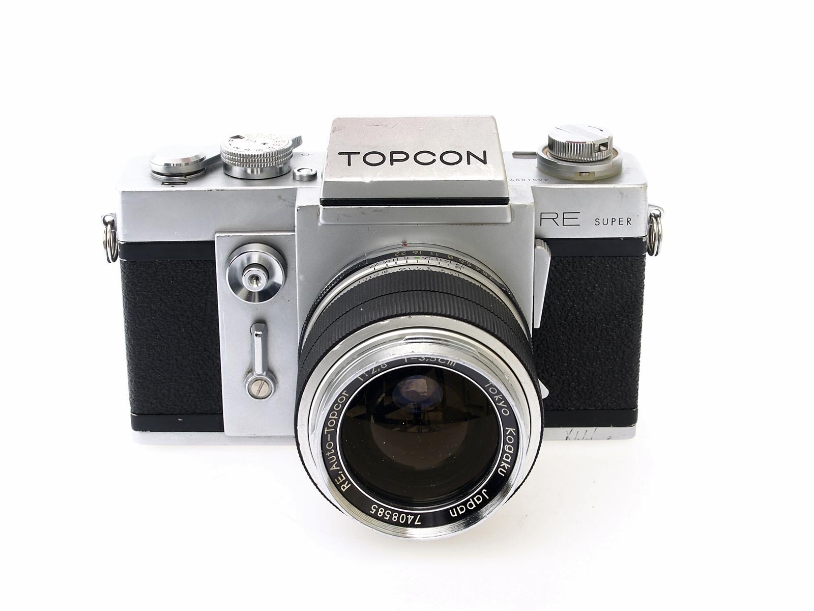 Topcon RE-Super (Japan, 1963-1971)