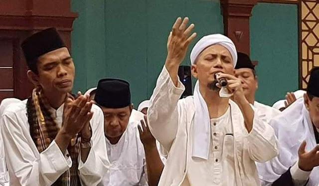 Cara KH Arifin Ilham Ingatkan Ustadz Somad Soal Cawapres Bikin Merinding