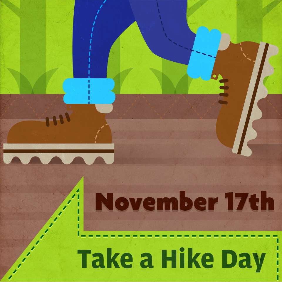 National Take a Hike Day Wishes Images download