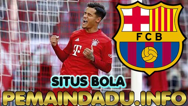 Klub Barcelona Ingin Coutinho Kembali Ke Camp Nou