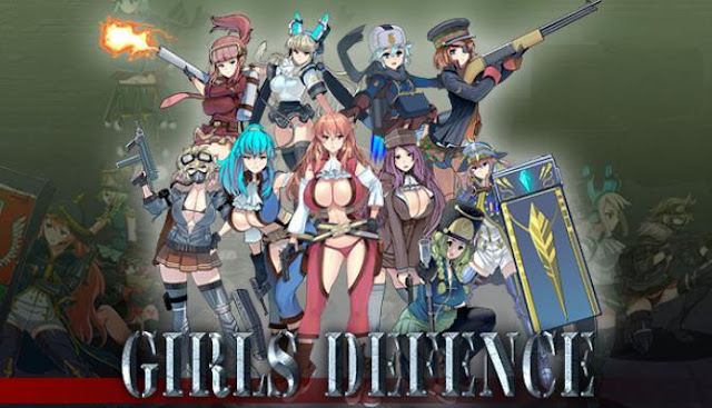 Girls Defence this is a shooter with elements of simulation, where beautiful animation graphics are involved, using more than a thousand animation moments.